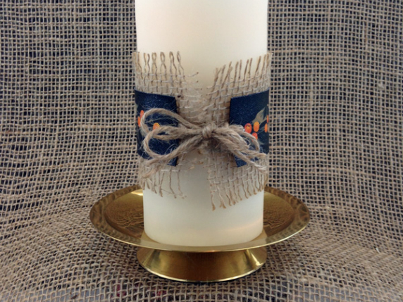 Bittersweet Candle Cozy Free Pattern by Laure Paillex ©2016