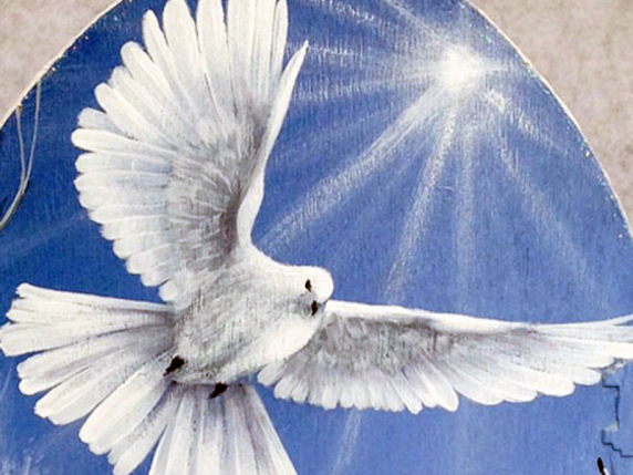 White Dove Painting Pattern Packet by Lauré Paillex ©2016