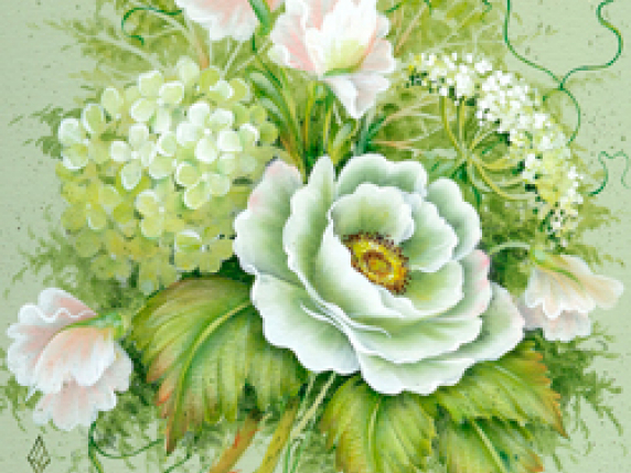 Fresh and Fabulous Flowers in Acrylics by Laure Paillex