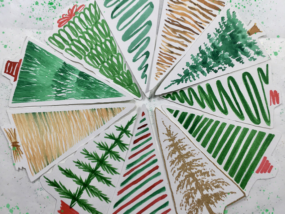 Christmas Tree Tags - Special by Laure Paillex