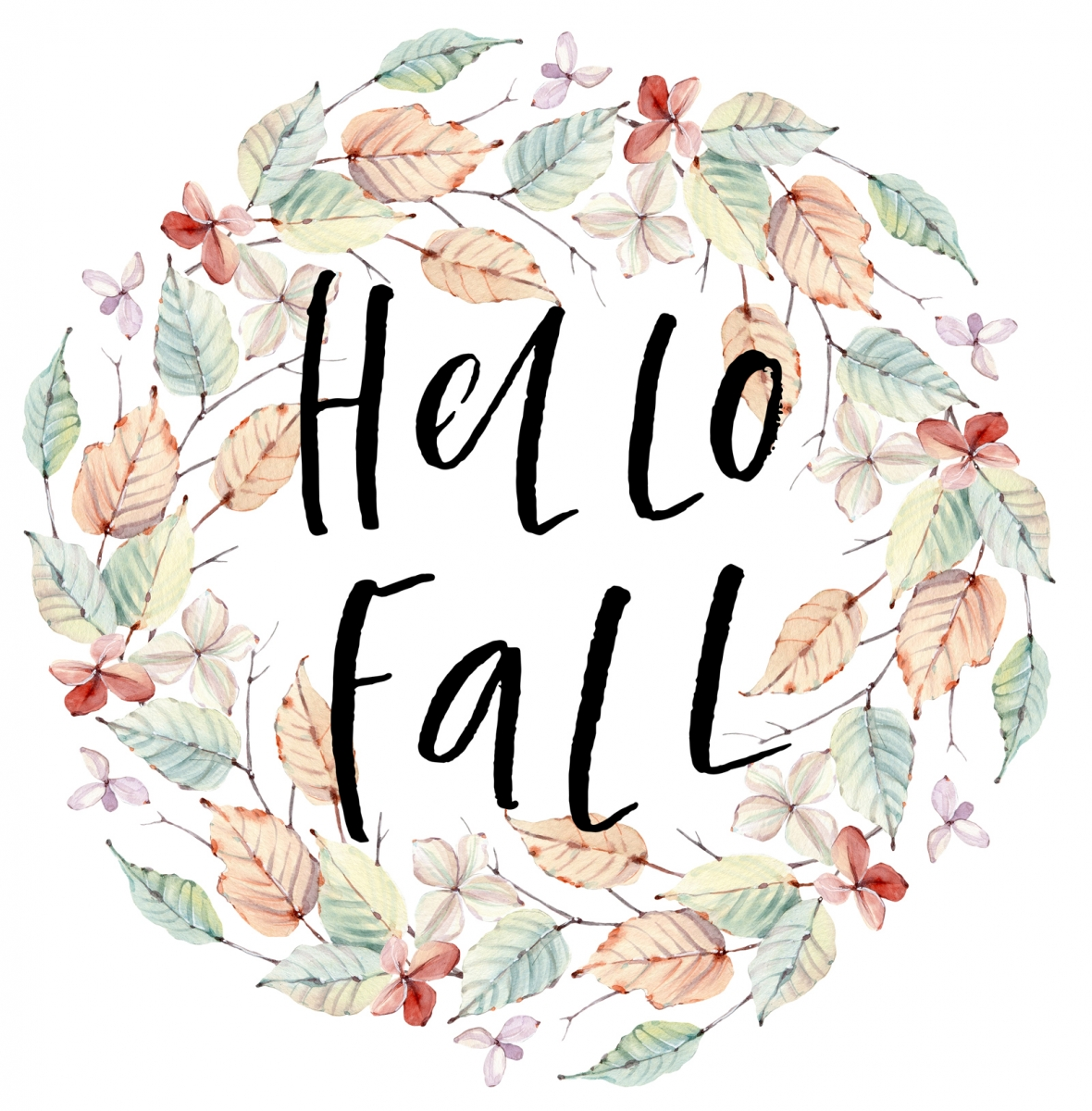 Hello Fall image Laure Paillex Art and Design blog post 2019