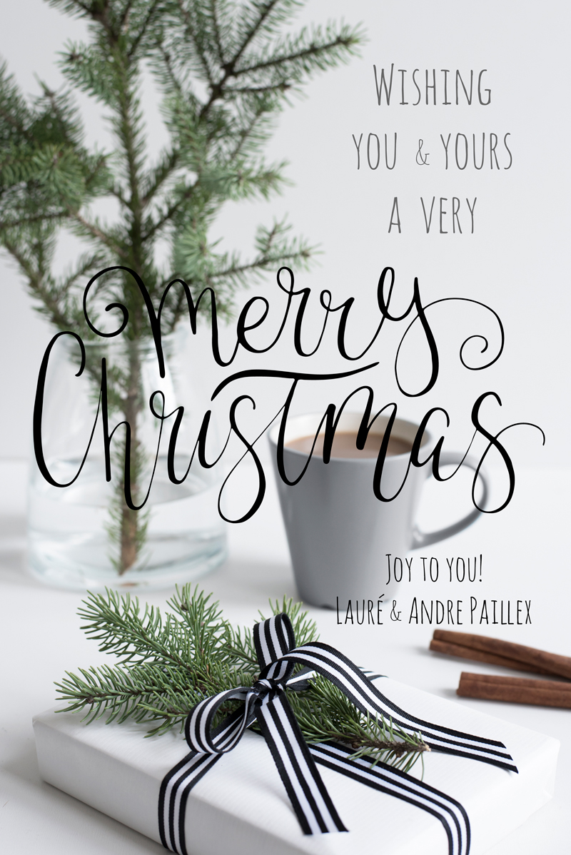 Merry Christmas from Laure Paillex