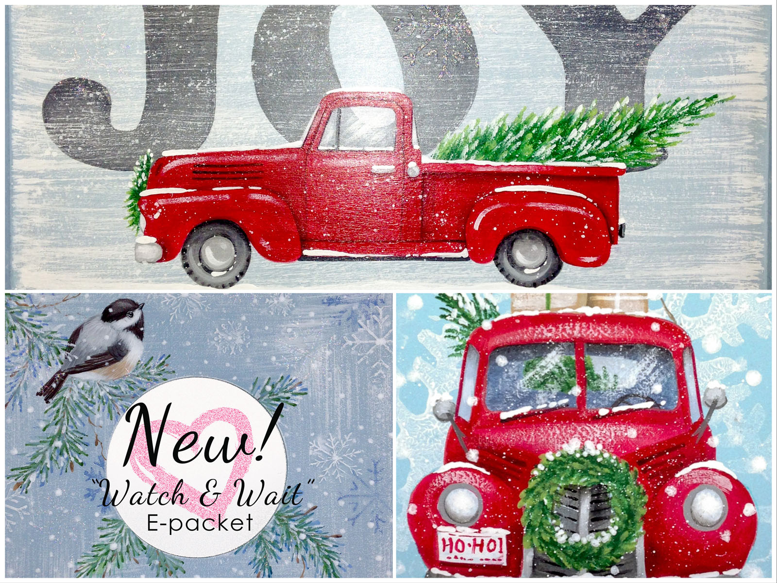 Decorative Painting E-Pattern Packets by Laure Paillex
