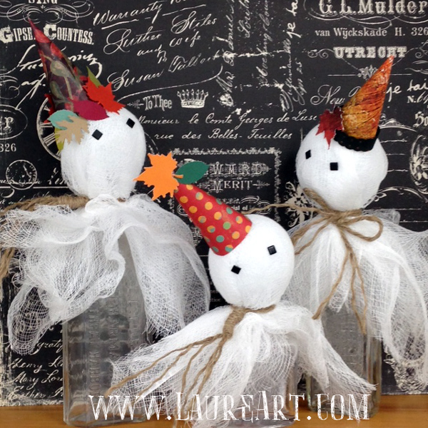 """Li'l Spookies"" Craft Project by Laure Paillex"